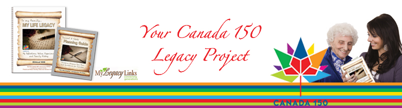 Your Canada 150 legacy project