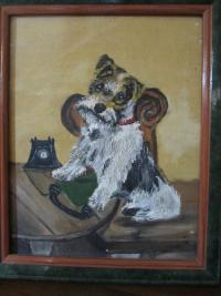 dog - Painted by Diane Roblin-Lee Age 8