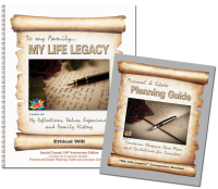 My Life Legacy - Ethical Will Workbooks