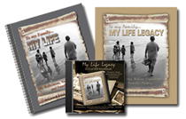 My Life Legacy Journals in Spiralbound Softcover or CD
