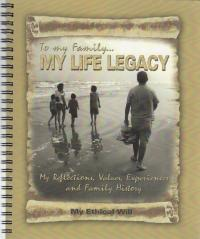 My Life Legacy - Record your family history and values
