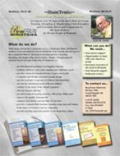 Sell Sheet Graphic Design by Diane Roblin-Lee
